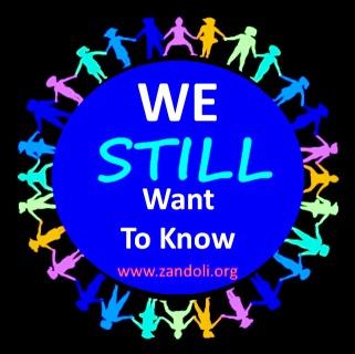 "Zandoli and allies say ""we still want to know""!"